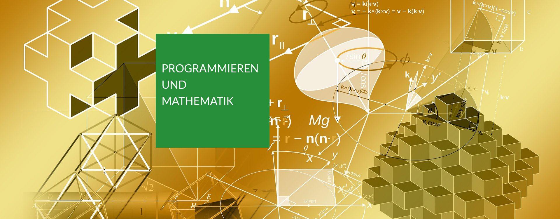Programmieren und Mathematik